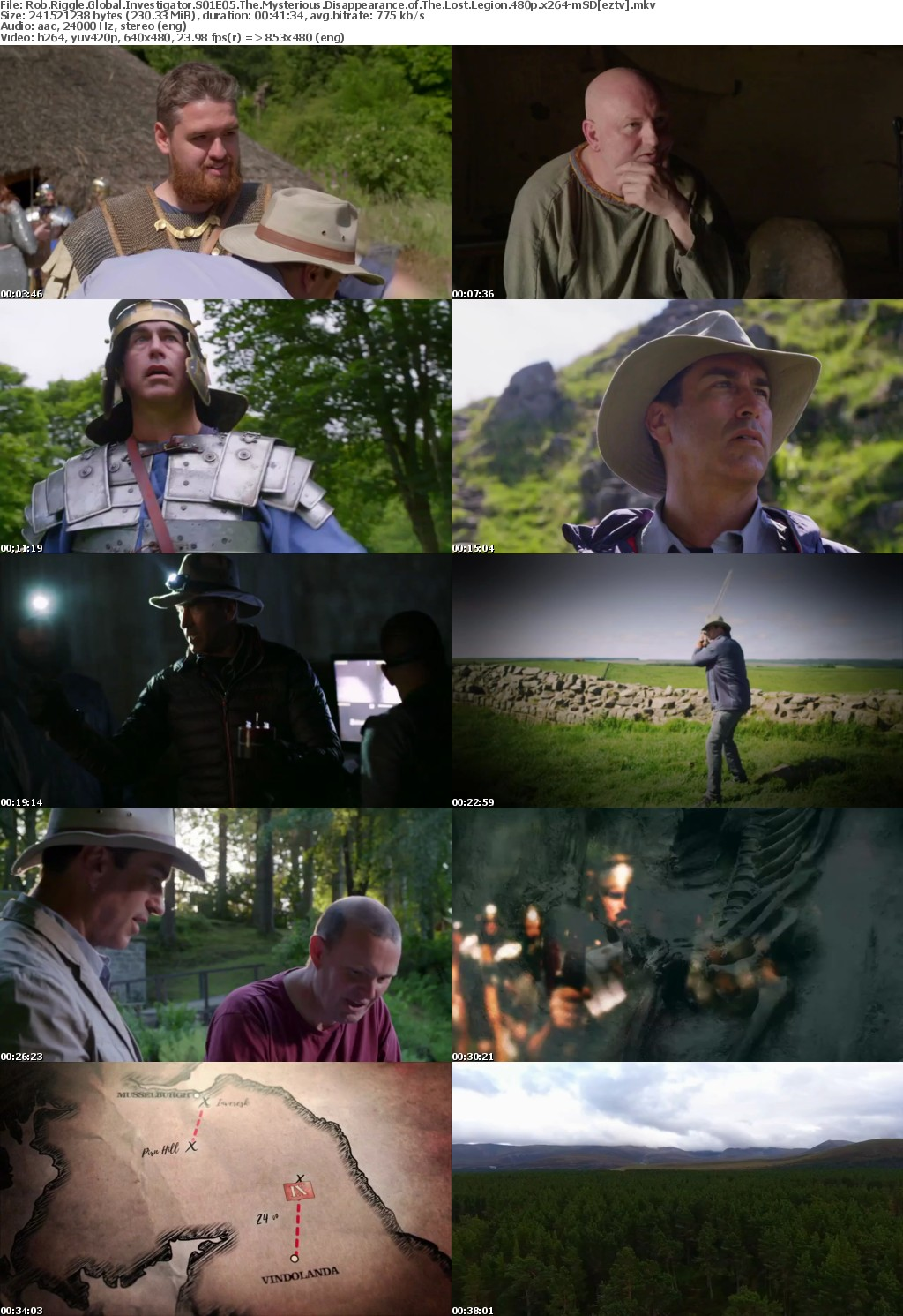 Rob Riggle Global Investigator S01E05 The Mysterious Disappearance of The Lost Legion 480p x264-mSD