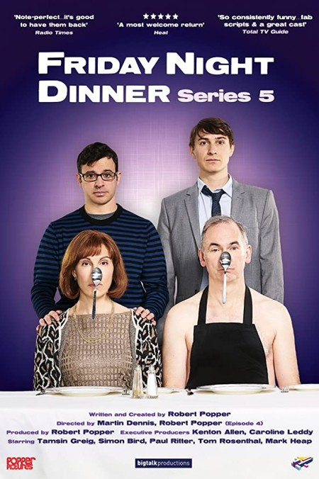 Friday Night Dinner S06E04 Dads Birthday 480p x264-mSD