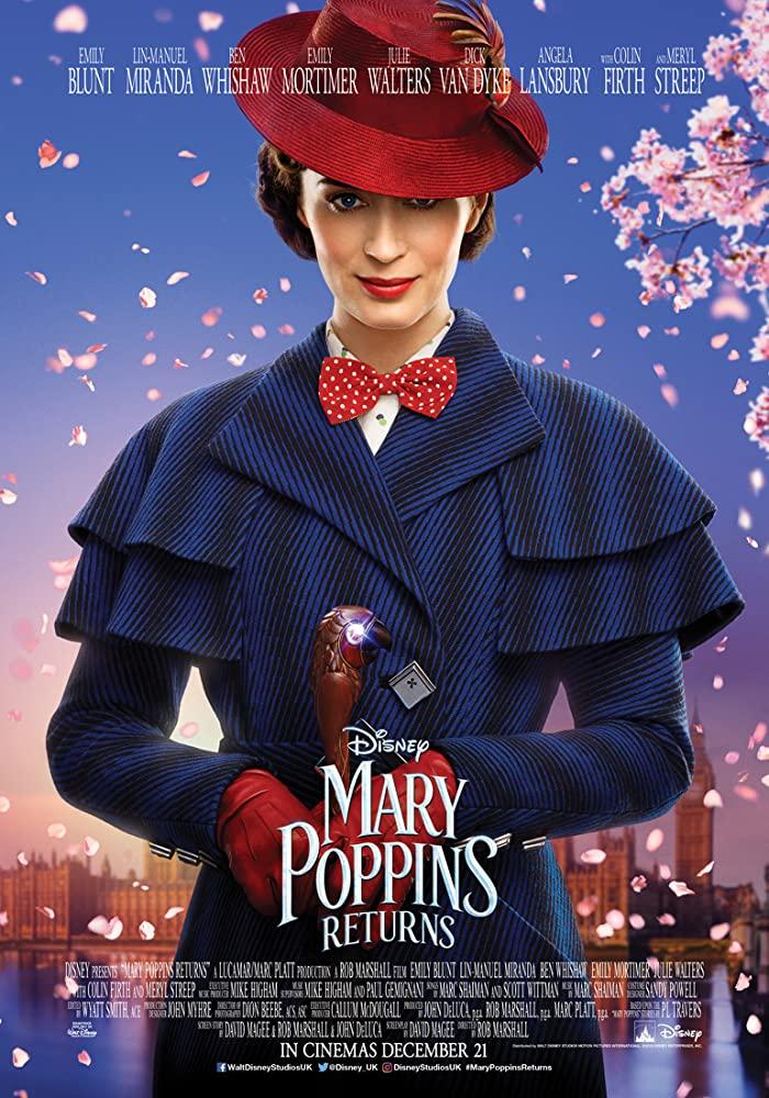 Mary Poppins Returns 2018 1080p BluRay x265-RARBG