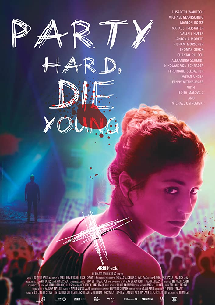 Party Hard Die Young 2019 DUBBED 720p HDRip X264 AC3-EVO