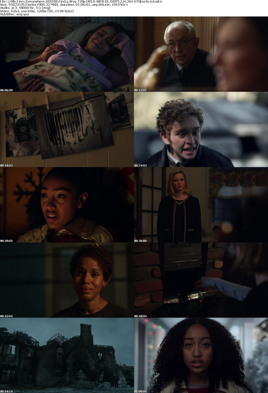 Little Fires Everywhere S01E08 Find a Way 720p HULU WEB-DL DDP5 1 H 264-NTb
