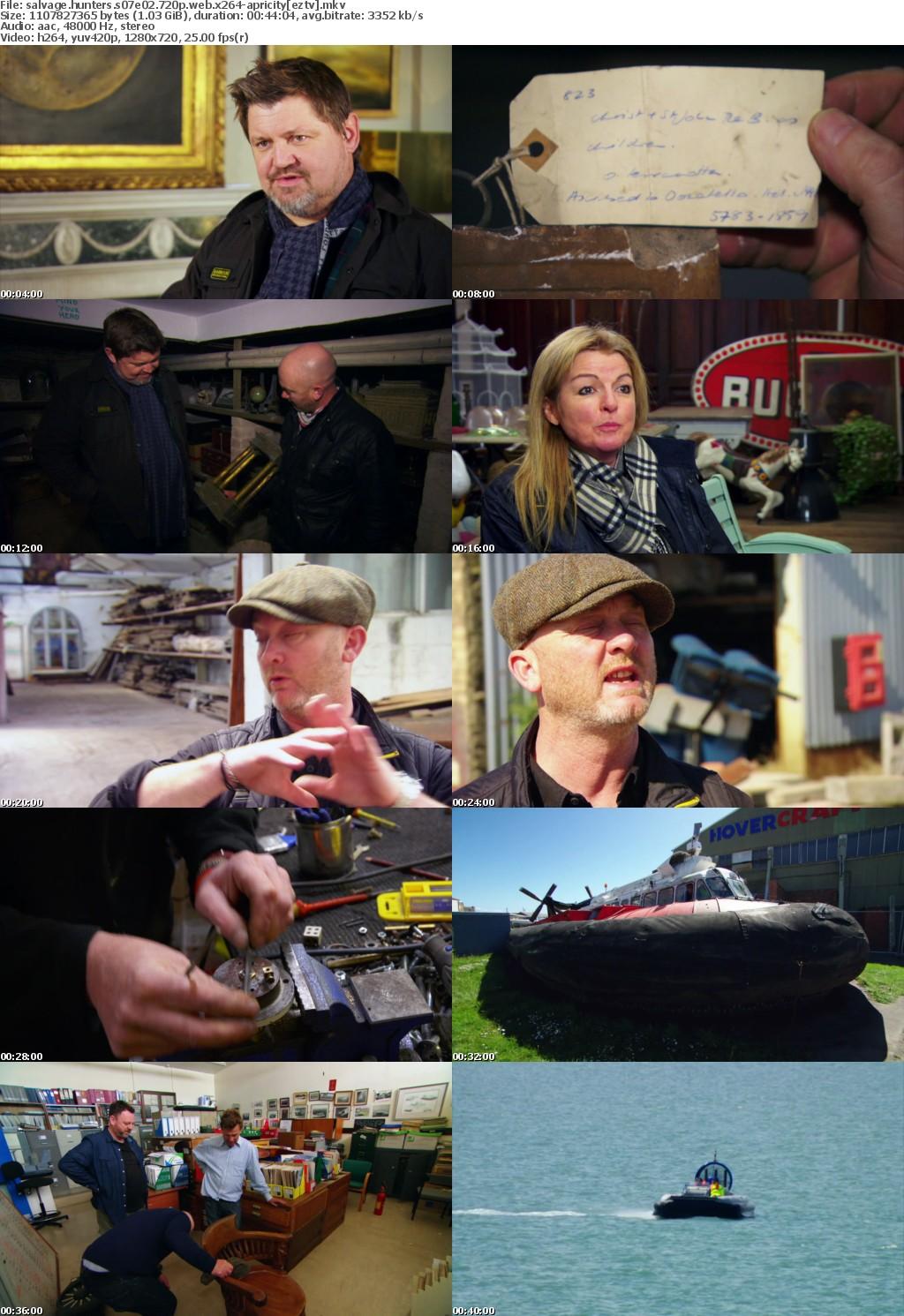 Salvage Hunters S07E02 720p WEB x264-APRiCiTY