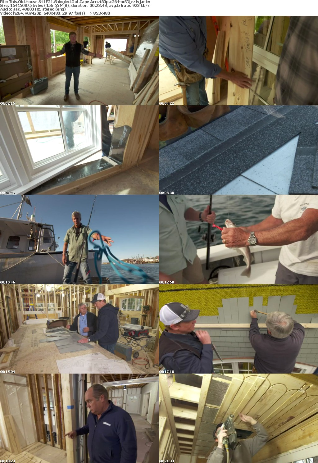 This Old House S41E21 Shingled Out Cape Ann 480p x264-mSD
