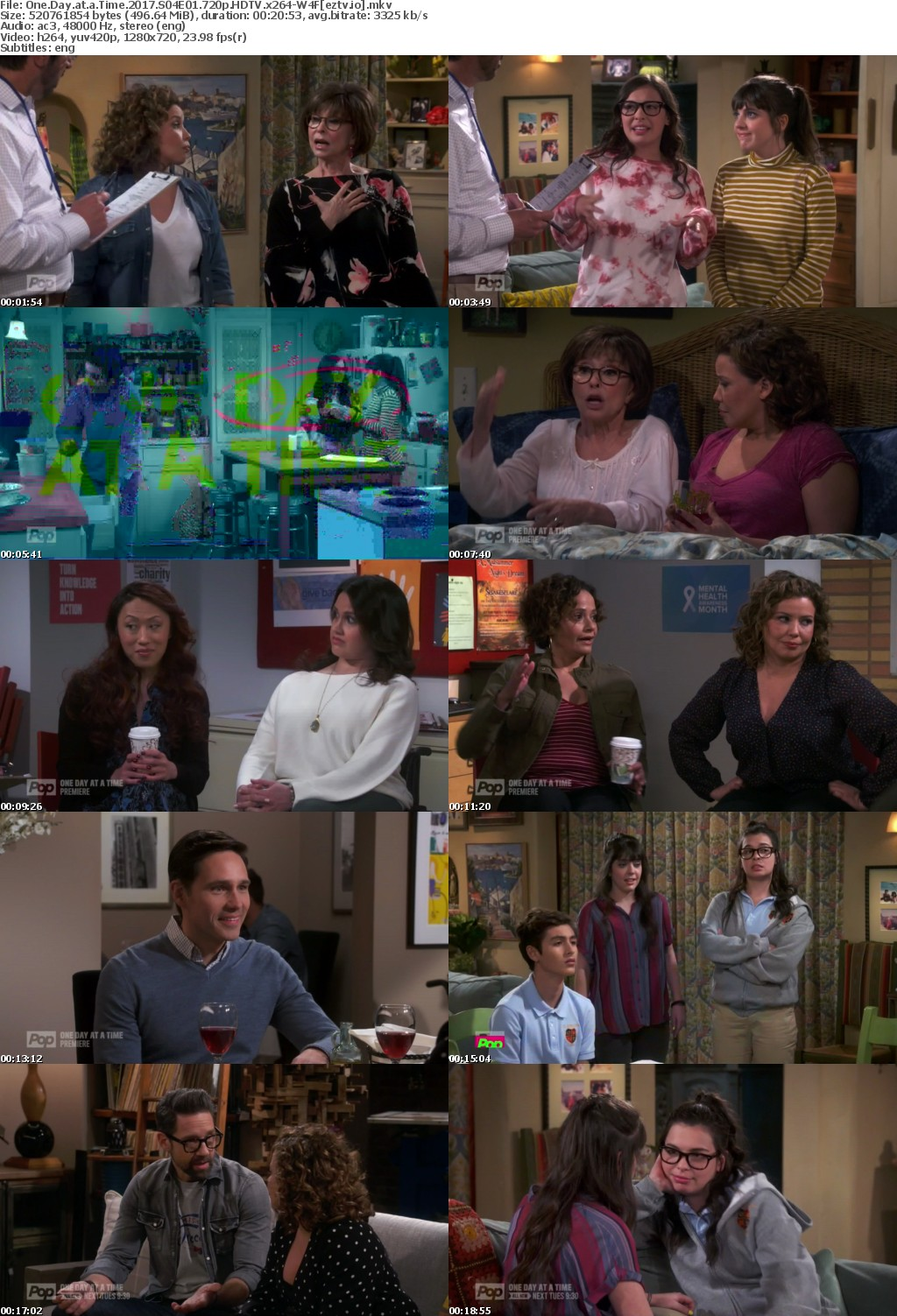 One Day at a Time 2017 S04E01 720p HDTV x264-W4F