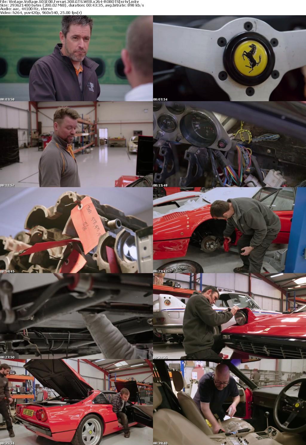Vintage Voltage S01E08 Ferrari 308 GTS WEB x264-ROBOTS