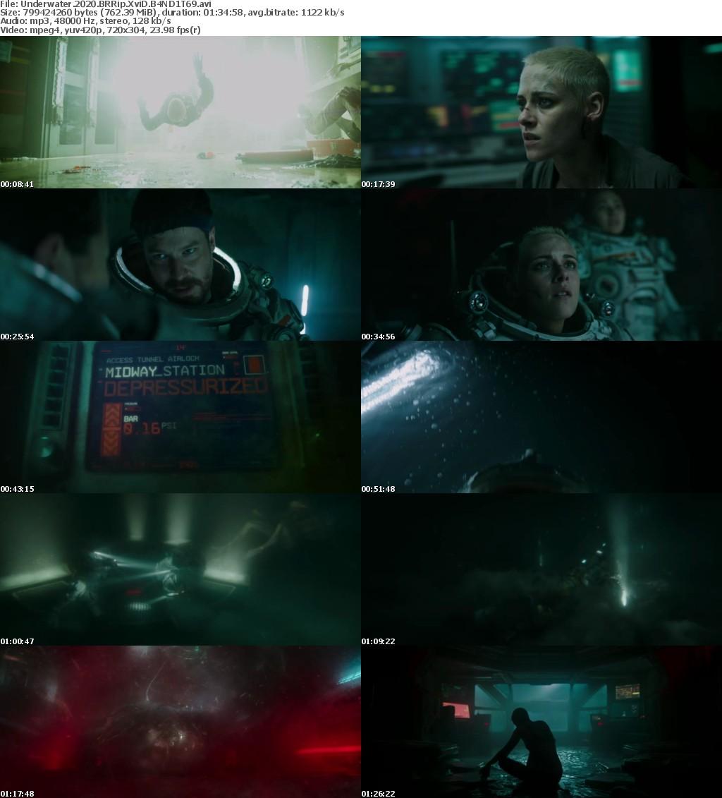 Underwater (2020) BRRip XviD B4ND1T69