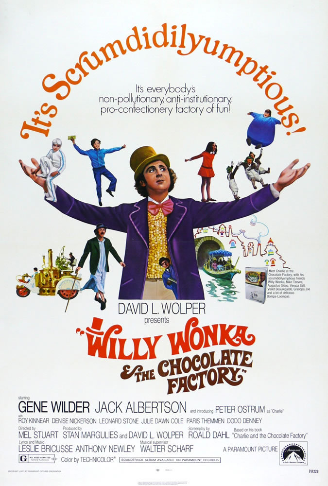 Willy Wonka And The Chocolate Factory 1971 1080p BluRay x265-RARBG