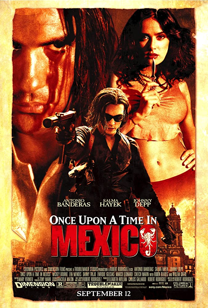 Once Upon A Time In Mexico 2003 1080p BluRay x265-RARBG