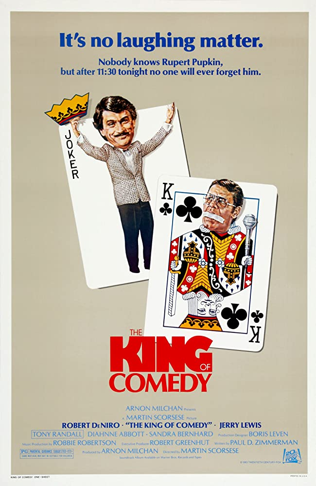 The King of Comedy (1982) [720p] [BluRay] [YTS MX]