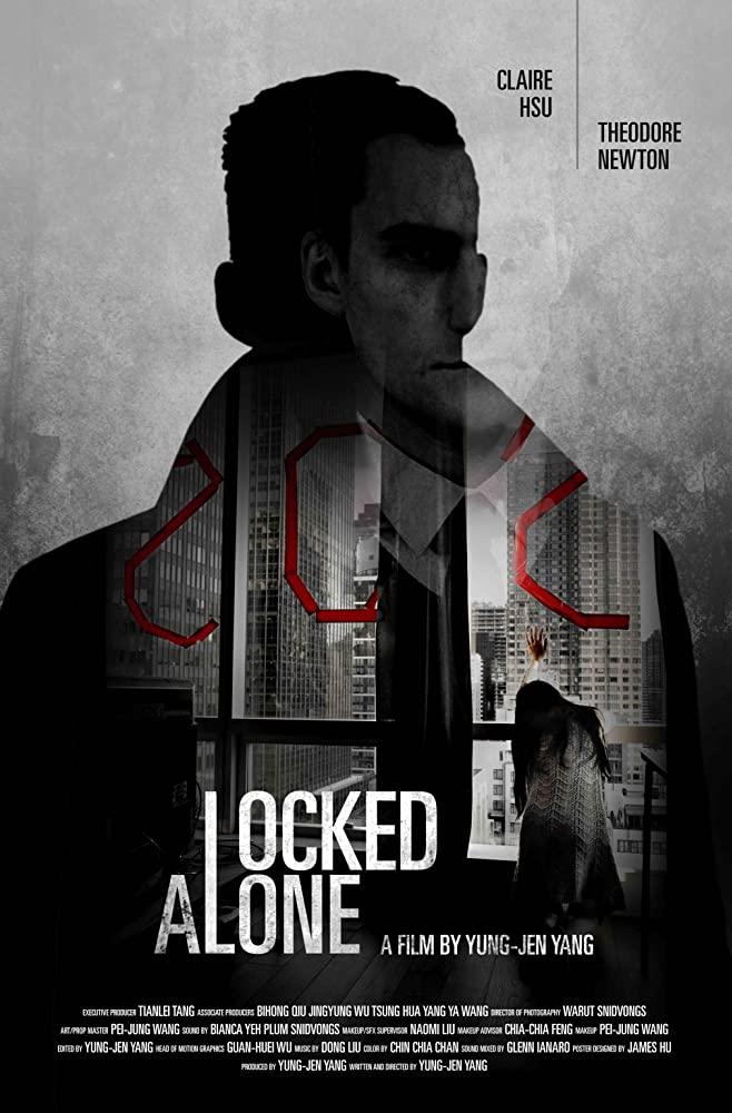 Locked Alone 2018 720p WEBRip 800MB x264-GalaxyRG