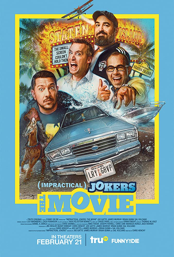 Impractical Jokers The Movie 2020 BDRip x264-WUTANG