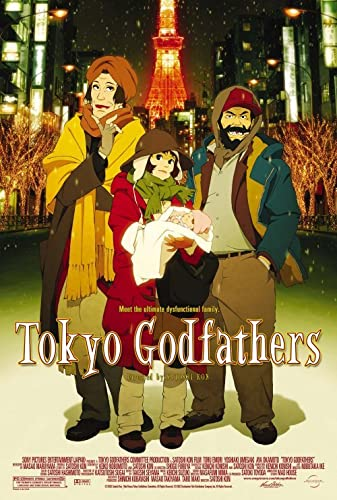 Tokyo Godfathers 2003 REMASTERED DUBBED BRRip XviD MP3-XVID