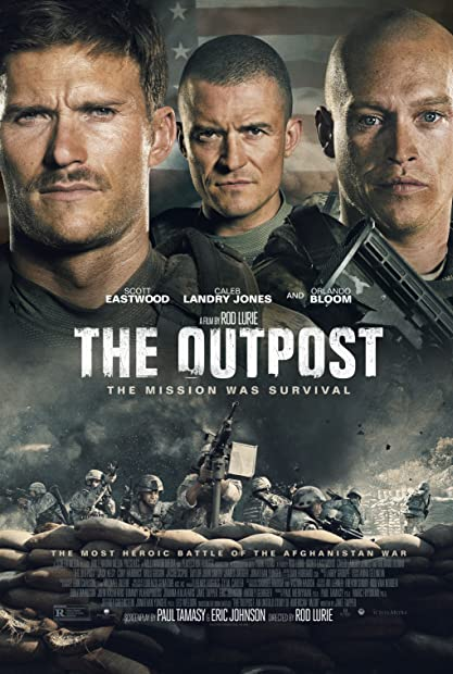 The Outpost (2020) 720p HDRip Hindi-Dub Dual-Audio x264 - 1XBET