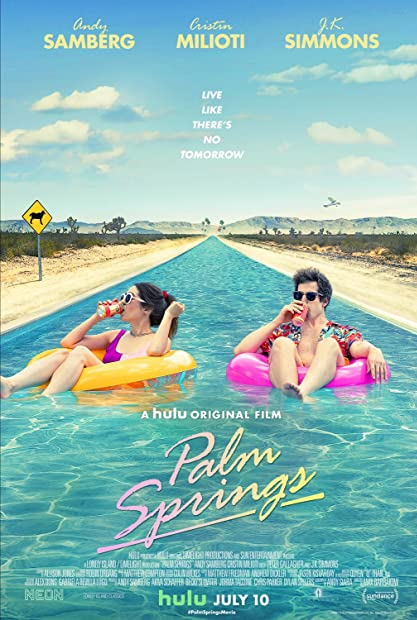 Palm Springs (2020) 720p HDRip Hindi-Dub Dual-Audio x264 -