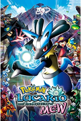 Pokemon Lucario and the Mystery of Mew 2006 DUBBED BRRip XviD MP3-XVID