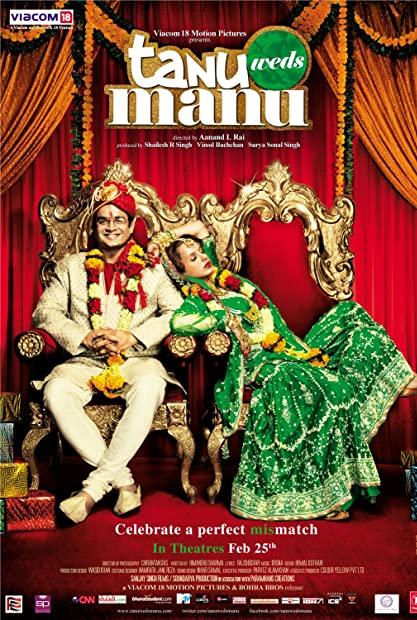 Tanu Weds Manu 2011 Hindi 720p BluRay x264 AAC 5 1 ESubs - LOKiHD - Telly
