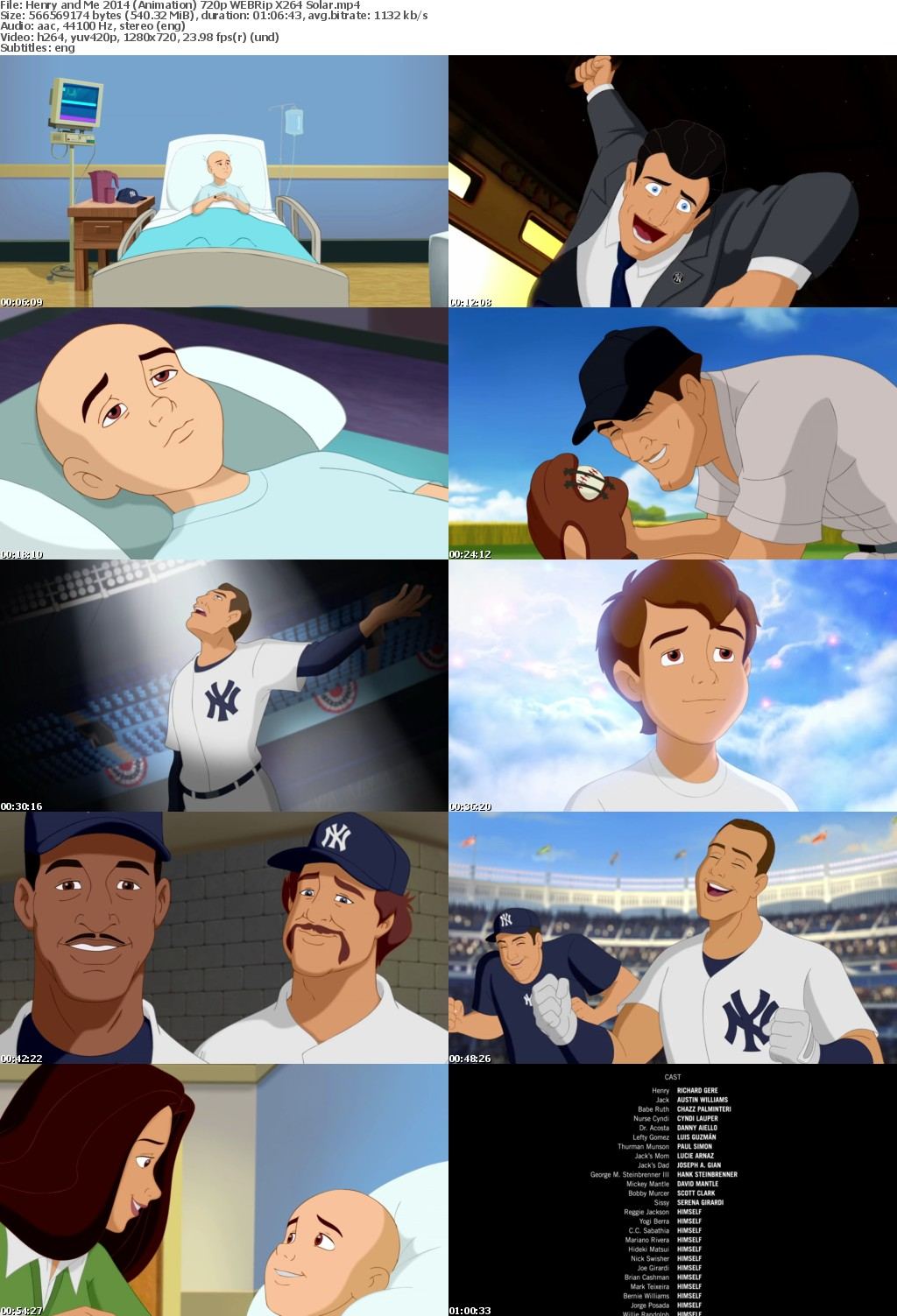 Henry and Me 2014 (Animation) 720p WEBRip X264 Solar