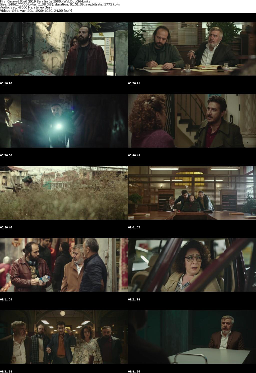 Cinayet Susu 2019 Sansursuz 1080p WebDL x264
