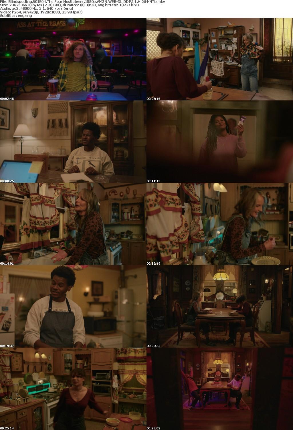 Blindspotting S01E04 The Four Hustlateers 1080p AMZN WEBRip DDP5 1 x264-NTb