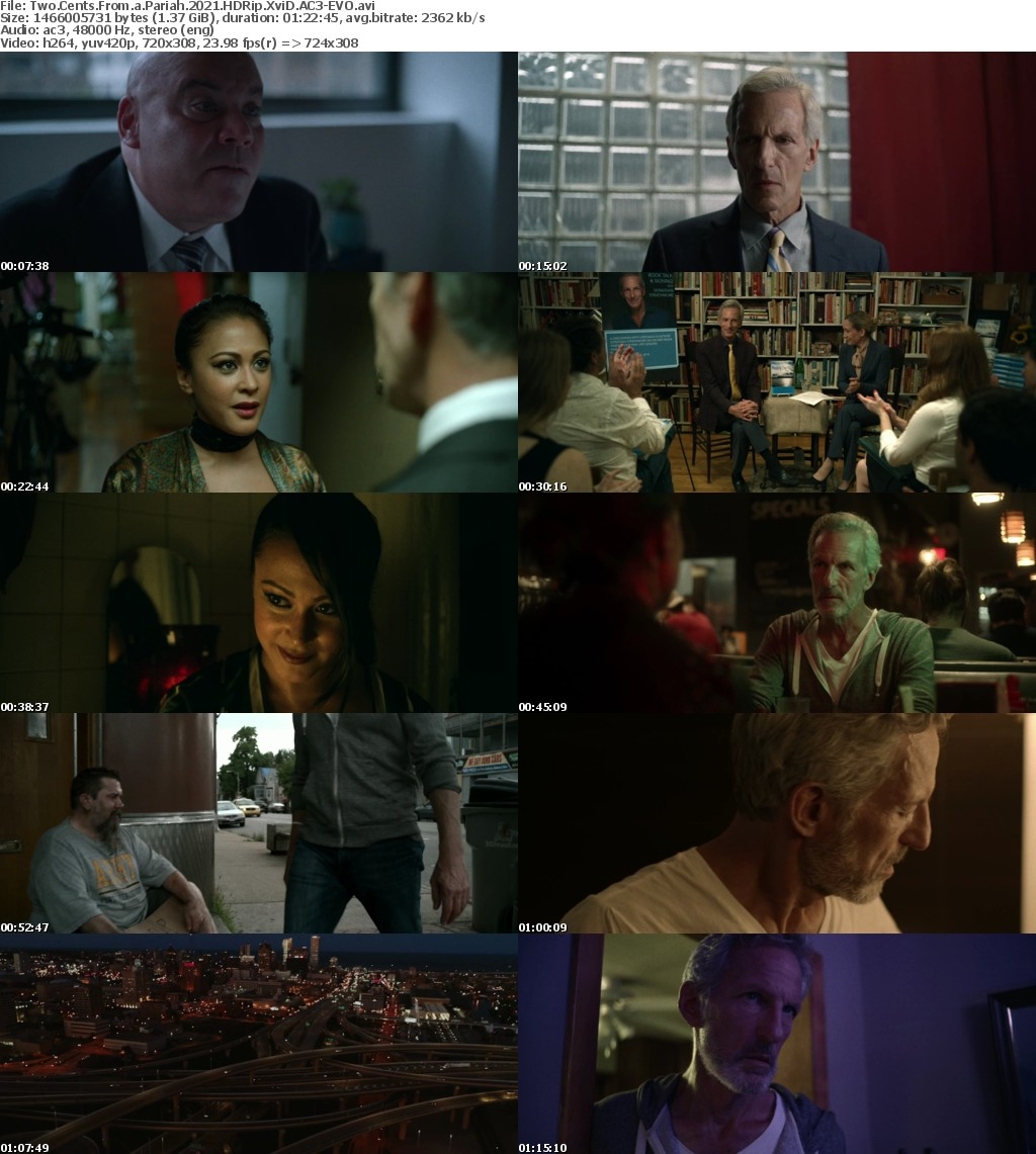 Two Cents From a Pariah 2021 HDRip XviD AC3-EVO