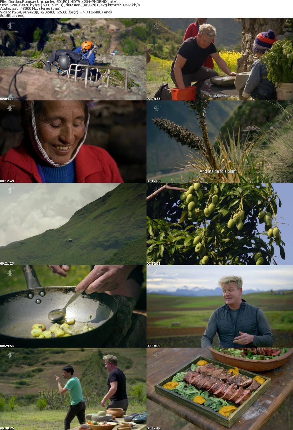 Gordon Ramsay Uncharted S01E01 HDTV x264-PHOENiX