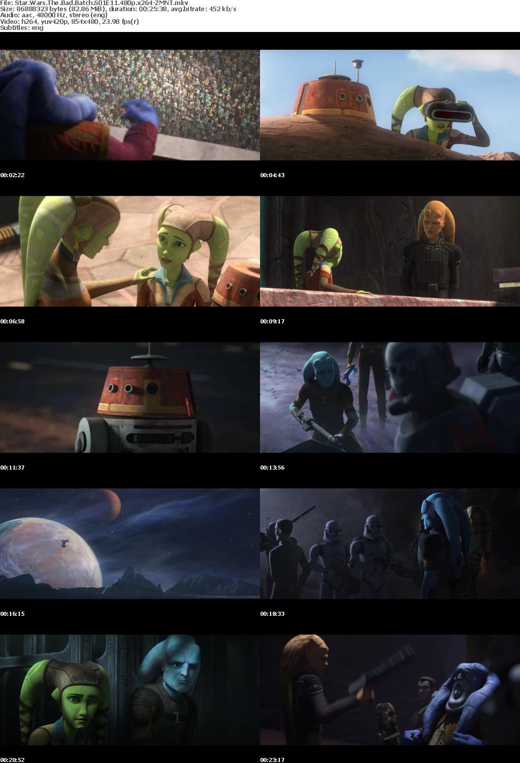 Star Wars The Bad Batch S01E11 480p x264-ZMNT