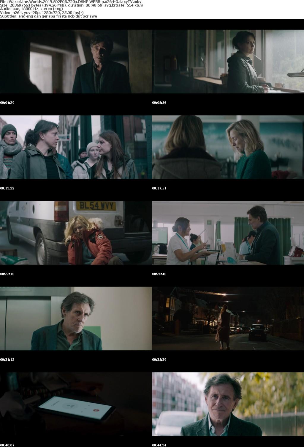 War of the Worlds 2019 S02 COMPLETE 720p DSNP WEBRip x264-GalaxyTV