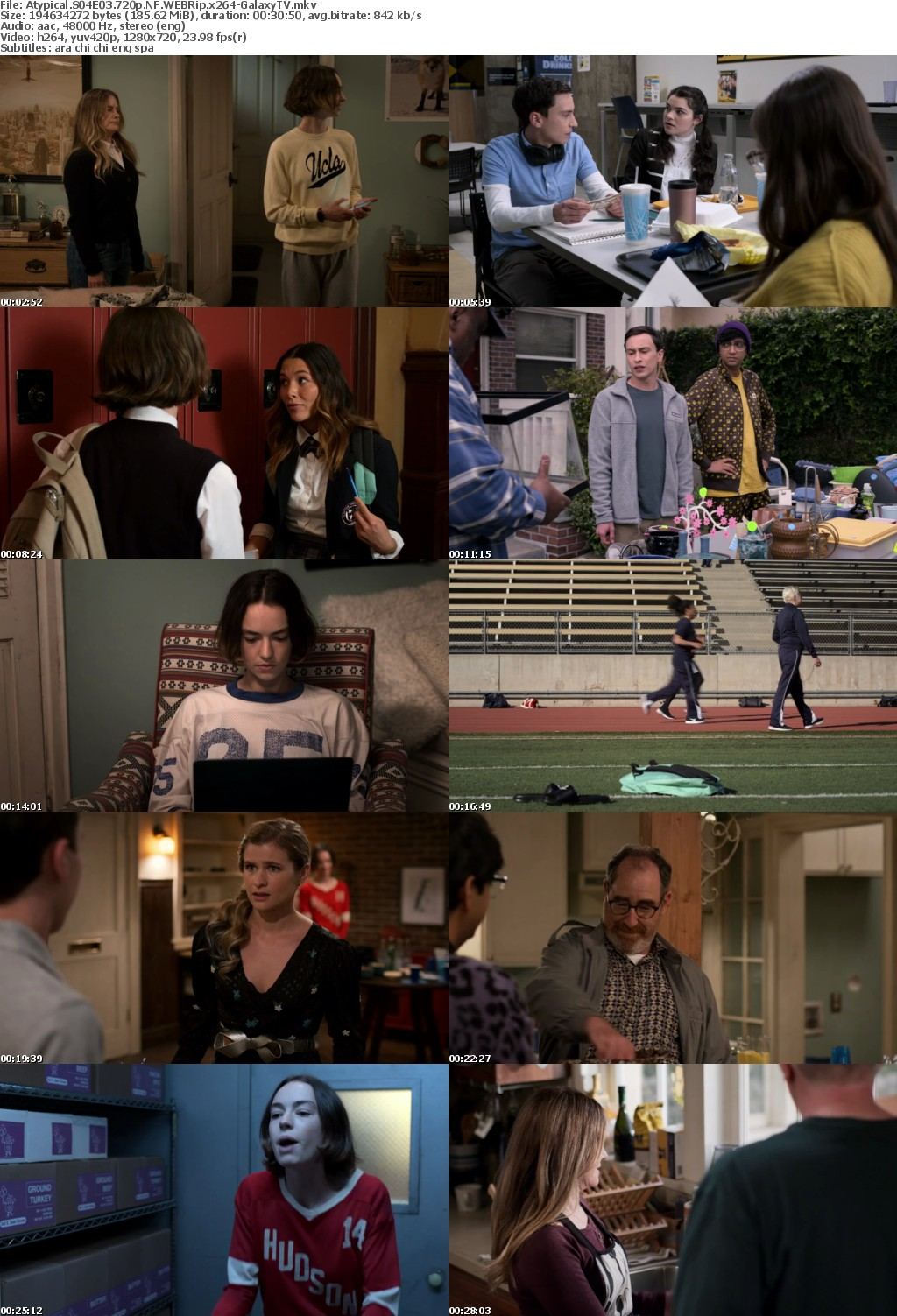 Atypical S04 COMPLETE REPACK 720p NF WEBRip x264-GalaxyTV
