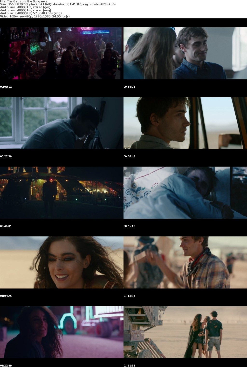 The Girl From the Song 2017 1080P WebDL x264 DDP5 1 WildBrian