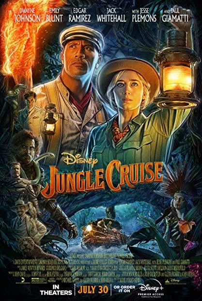 Jungle Cruise 2021 720p DSNP WEBRip 800MB x264-GalaxyRG