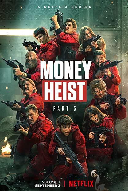 Money Heist Season 5 Part 1 720p WebDl x264-English-Hindi-Tam-Tel- MoviesFD