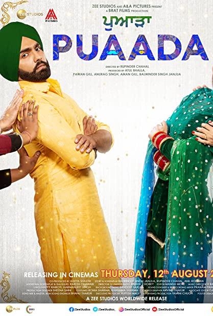Puaada 2021 Punjabi 720p WEBRip AAC ESubs x264 - LOKiHD - Telly mkv