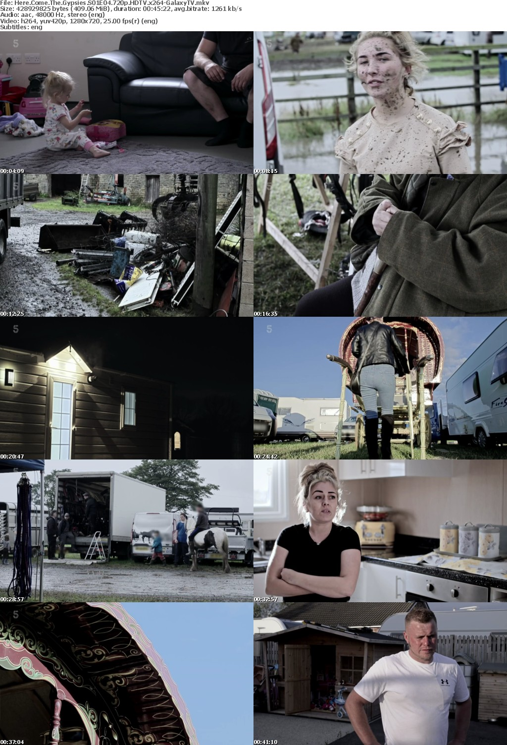 Here Come The Gypsies S01 COMPLETE 720p HDTV x264-GalaxyTV