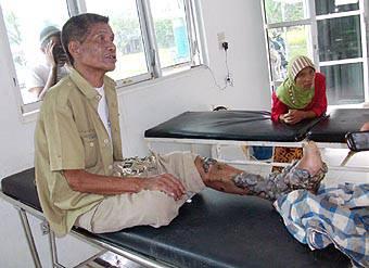 7636571d1f7a2a79921bc1661f67725cb14809a 2 Penderita Penyakit Aneh Dari Padang Bolak Dirujuk ke RS Adam Malik